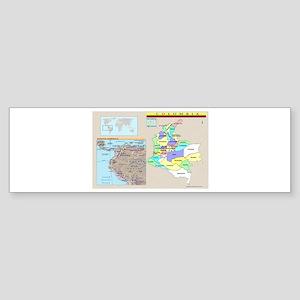 Location Colombia Bumper Sticker