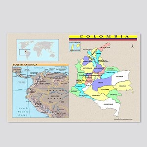 Location Colombia Postcards (Package of 8)
