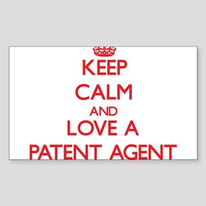Keep Calm and Love a Patent Agent Sticker