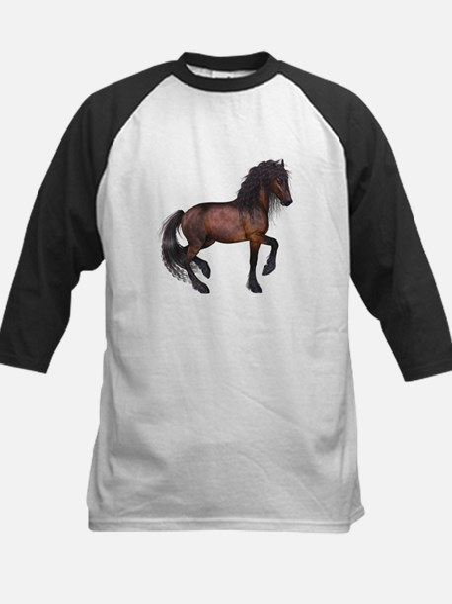 brown Horse 2 Baseball Jersey