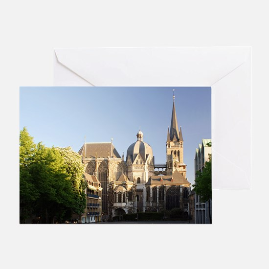 Aachen Cathedral Card Greeting Cards