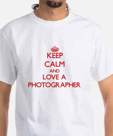 Keep Calm and Love a Photographer T-Shirt