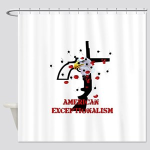 American Exceptionalism Shower Curtain