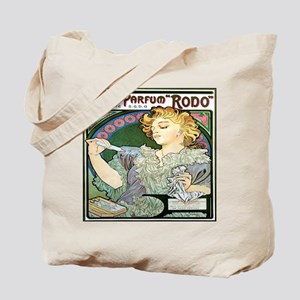 Alfons Mucha 1896 Lance Parfum Rodo Tote Bag