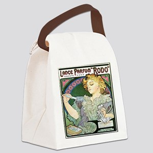 Alfons Mucha 1896 Lance Parfum Rodo Canvas Lunch B