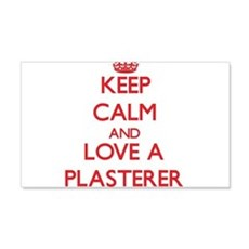 Keep Calm and Love a Plasterer Wall Decal