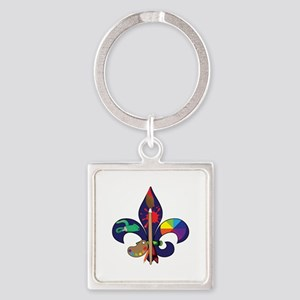 Fleur De Artist Keychains