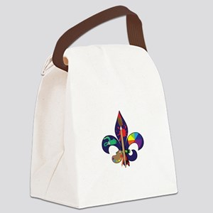Fleur De Artist Canvas Lunch Bag