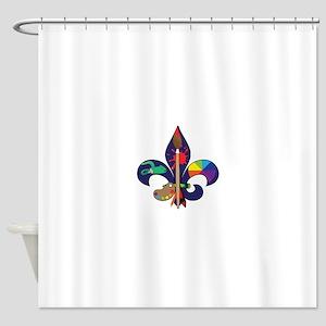 Fleur De Artist Shower Curtain