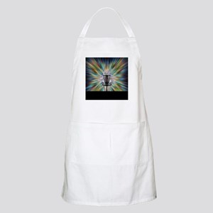 Disc Golf Basket Silhouette Apron