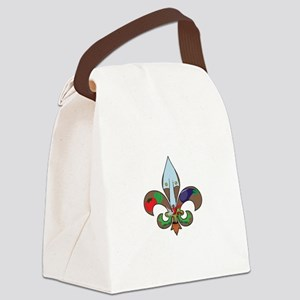 Fluer de Gardener Canvas Lunch Bag