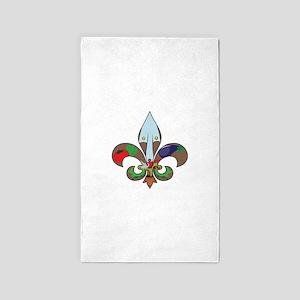 Fluer de Gardener 3'x5' Area Rug