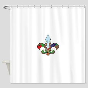 Fluer de Gardener Shower Curtain
