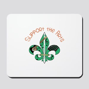 Support The Arts Mousepad