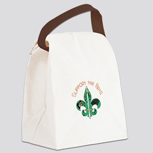 Support The Arts Canvas Lunch Bag