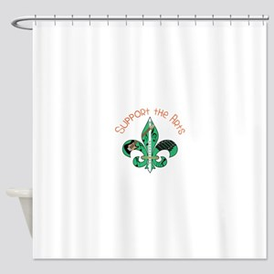 Support The Arts Shower Curtain