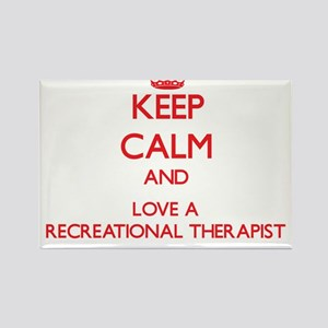 Keep Calm and Love a Recreational Therapist Magnet
