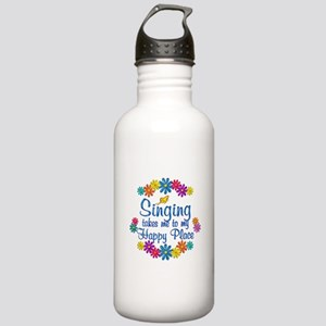 Singing Happy Place Stainless Water Bottle 1.0L