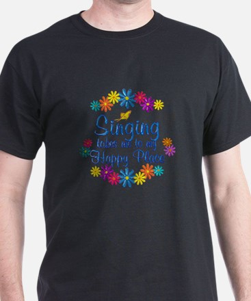 Singing Happy Place T-Shirt