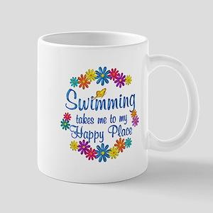 Swimming Happy Place Mug