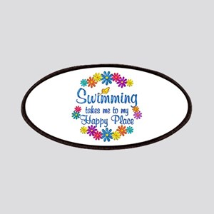 Swimming Happy Place Patches
