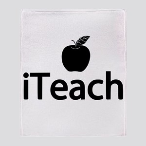 iTeach Fun Design Throw Blanket