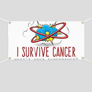 I Survive Cancer Banner
