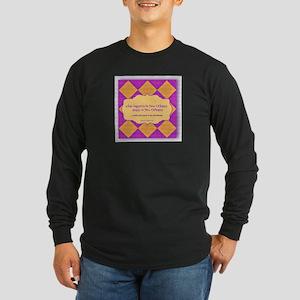 New Orleans Saying Mens Dark Long Sleeve T-Shirt