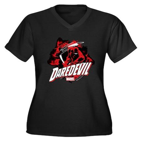 T Dark V Plus neck 1306583836 Size Cafepress shirt Women's UwRpzqRxv