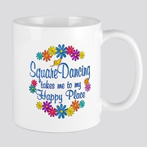 Square Dancing Happy Place Mug