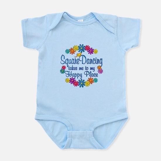 Square Dancing Happy Place Infant Bodysuit