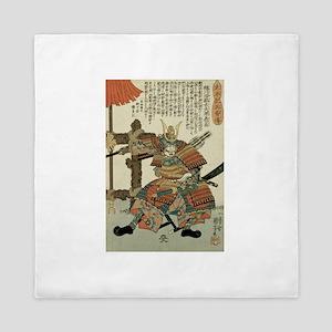 Samurai Imagawa Yoshimoto Queen Duvet