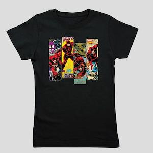 Daredevil Comic Panels Girl's Tee