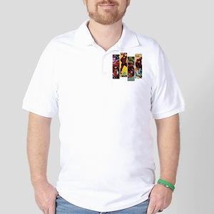 Daredevil Comic Panels Golf Shirt