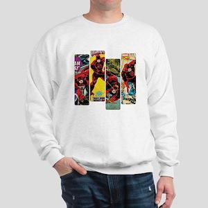 Daredevil Comic Panels Sweatshirt