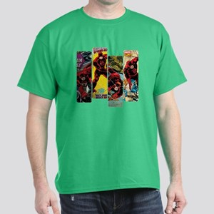 Daredevil Comic Panels Dark T-Shirt