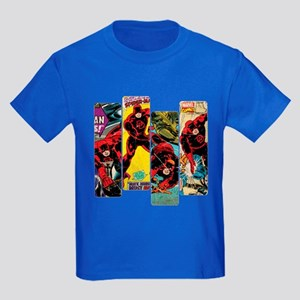 Daredevil Comic Panels Kids Dark T-Shirt