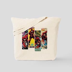 Daredevil Comic Panels Tote Bag
