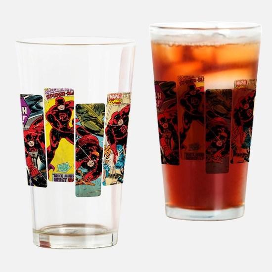Daredevil Comic Panels Drinking Glass