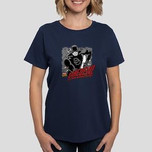 Daredevil Black and White Women's Dark T-Shirt