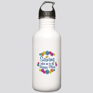Sewing Happy Place Stainless Water Bottle 1.0L