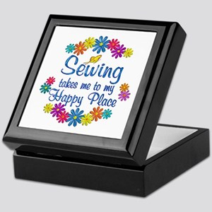 Sewing Happy Place Keepsake Box