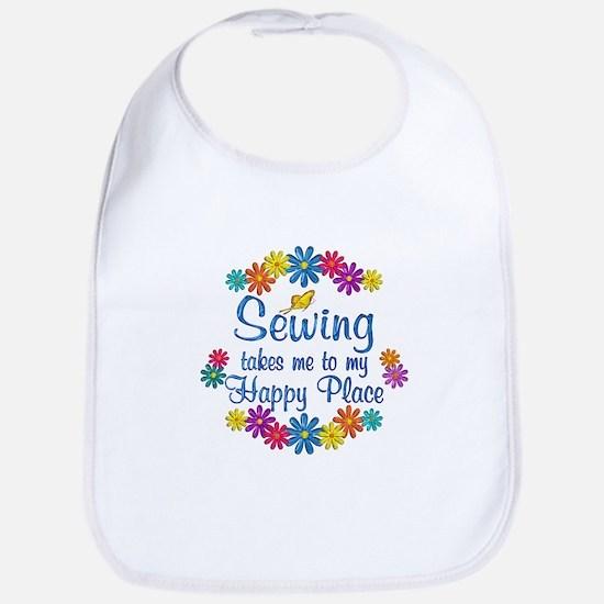 Sewing Happy Place Bib