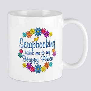 Scrapbooking Happy Place Mug