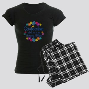 Scrapbooking Happy Place Women's Dark Pajamas
