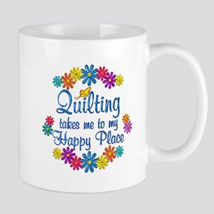 Quilting Happy Place Mug
