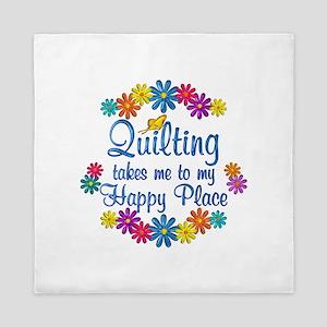 Quilting Happy Place Queen Duvet