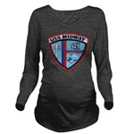 USS MIDWAY Long Sleeve Maternity T-Shirt