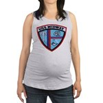 USS MIDWAY Maternity Tank Top