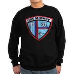 USS MIDWAY Sweatshirt (dark)
